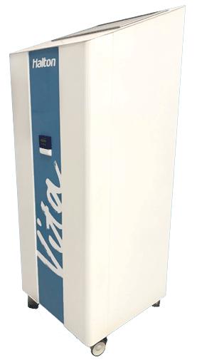 sanificazione dell'aria halton vita cell room